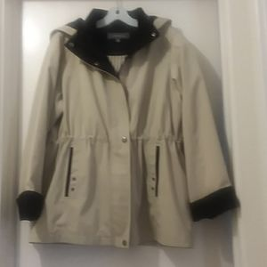 LIZ CLAIBORNE cream jacket XLP